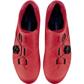 Shimano SH-RC3 Bike Shoes Wide Men, red